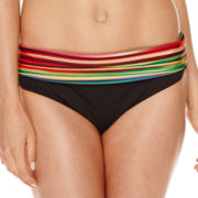 a.n.a® Striped Ombre Push-Up Swim Top or Foldover Hipster Swim Bottoms