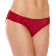 a.n.a® Red Crochet Hipster Swim Bottoms
