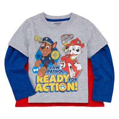 jcpenney.com | Boys Long Sleeve Paw Patrol T-Shirt-Toddler