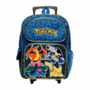 "Pokemon 16"" Rolling Backpack- Boys One Size"