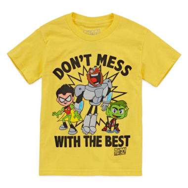 jcpenney.com | Teen Titans Go! Don't Mess Graphic T-Shirt - Preschool 4-7X