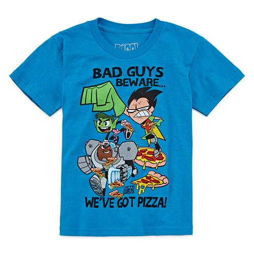 Teen Titans Go! Bad Guys Beware Graphic T-Shirt - Preschool 4-7X