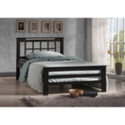 Baxton Studio Aperta Wenge Wood Contemporary Bed