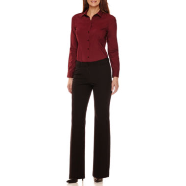 jcpenney.com | Worthington® Long-Sleeve Button-Front Oxford Shirt or Modern-Fit Pants