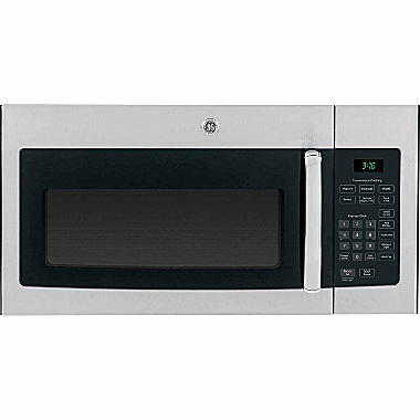 Ge 1 6 cu ft over the range microwave oven jvm3160dfww jcpenney - Red over the range microwave ...