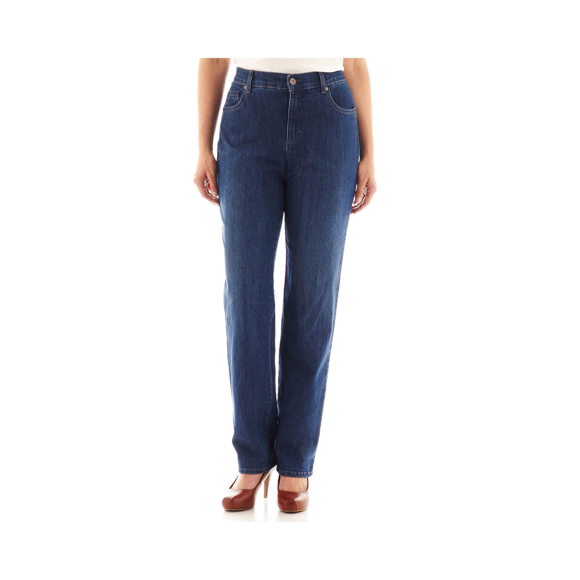 Gloria Vanderbilt Amanda Jeans - Petite plus size,  plus size fashion plus size appare