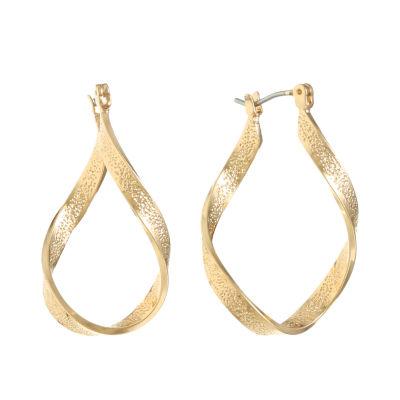 Monet Jewelry 37mm Hoop Earrings