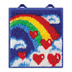 Kahootz Toys - LatchKits Mini Rug, Rainbow