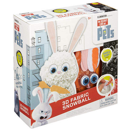 ALEX TOYS Pets 3d Kids Craft Kit