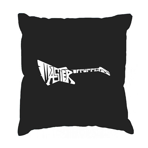 Los Angeles Pop Art Master of Puppets Throw PillowCover