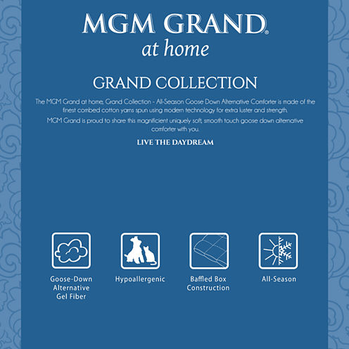Mgm Grand At Home Grand Collection All-Season Comforter
