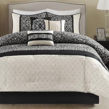 jcpenney.com | Madison Park Adonis Medallion 7-pc. Comforter Set