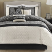 Madison Park Adonis Medallion 7-pc. Comforter Set