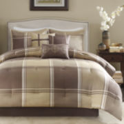 Madison Park Emmet Plaid 7-pc. Comforter Set