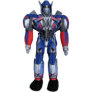 Hasbro Transformers Alien Optimus Prime Cuddle Plush Pillow