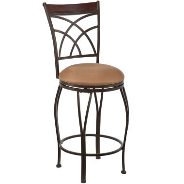 jcpenney.com | Julian Swivel Barstool with Back