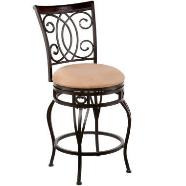 jcpenney.com | Devon Swivel Barstool with Back