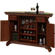 Gilbert Granite-Top Home Bar