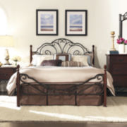 Belvedere Metal 4-Poster Bed