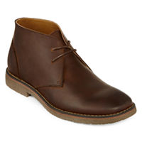 St. John's Bay Clutch Mens Leather Boots (Tan / Brown)