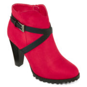 Two Lips Too Lisa Womens Ankle Booties