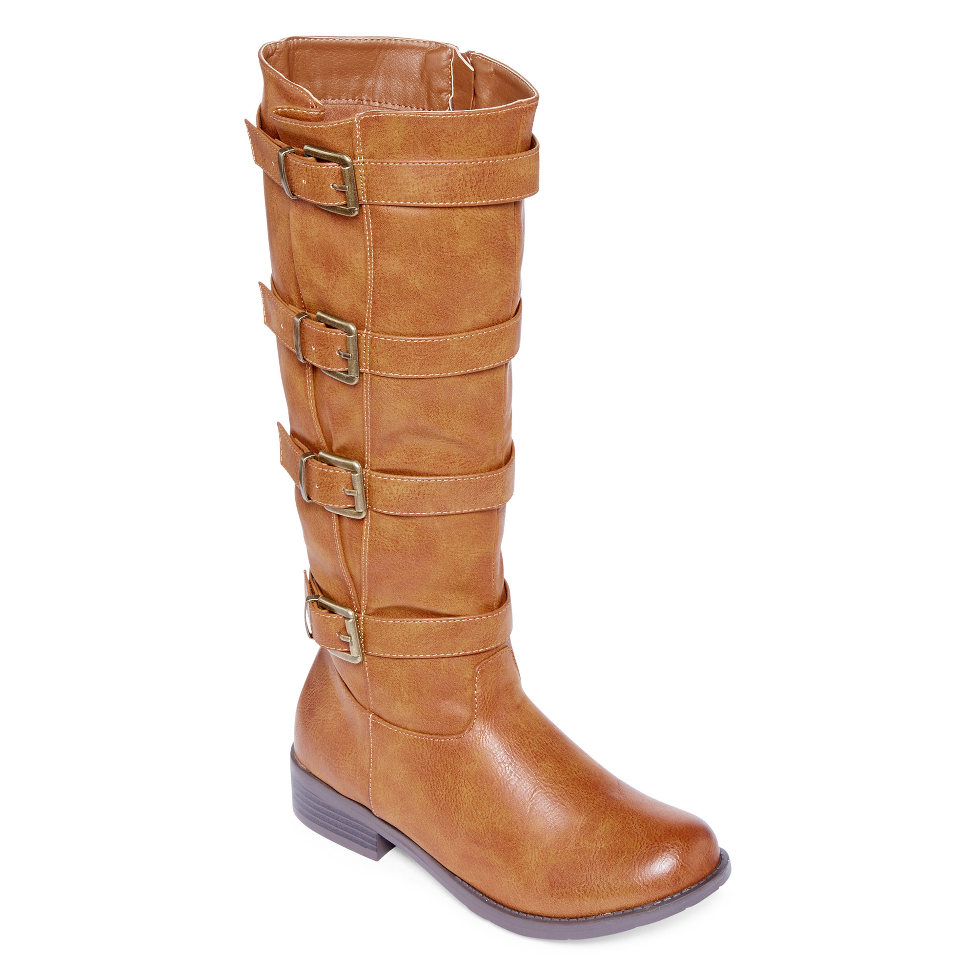 2 Lips Too Jake Womens Wide Calf Riding Boots