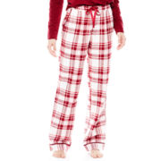 Liz Claiborne® Flannel Sleep Pants - Petite