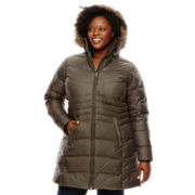 Columbia® Storm Warmer Long Down Jacket - Plus