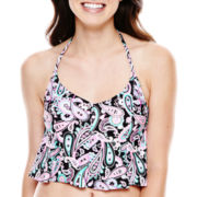 Arizona Print Halterkini Swim Top - Juniors
