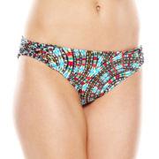 a.n.a® Sun Ray Print Hipster Swim Bottoms