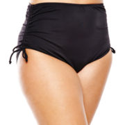 Jamaica Bay® Adjustable Brief Swim Bottoms - Plus
