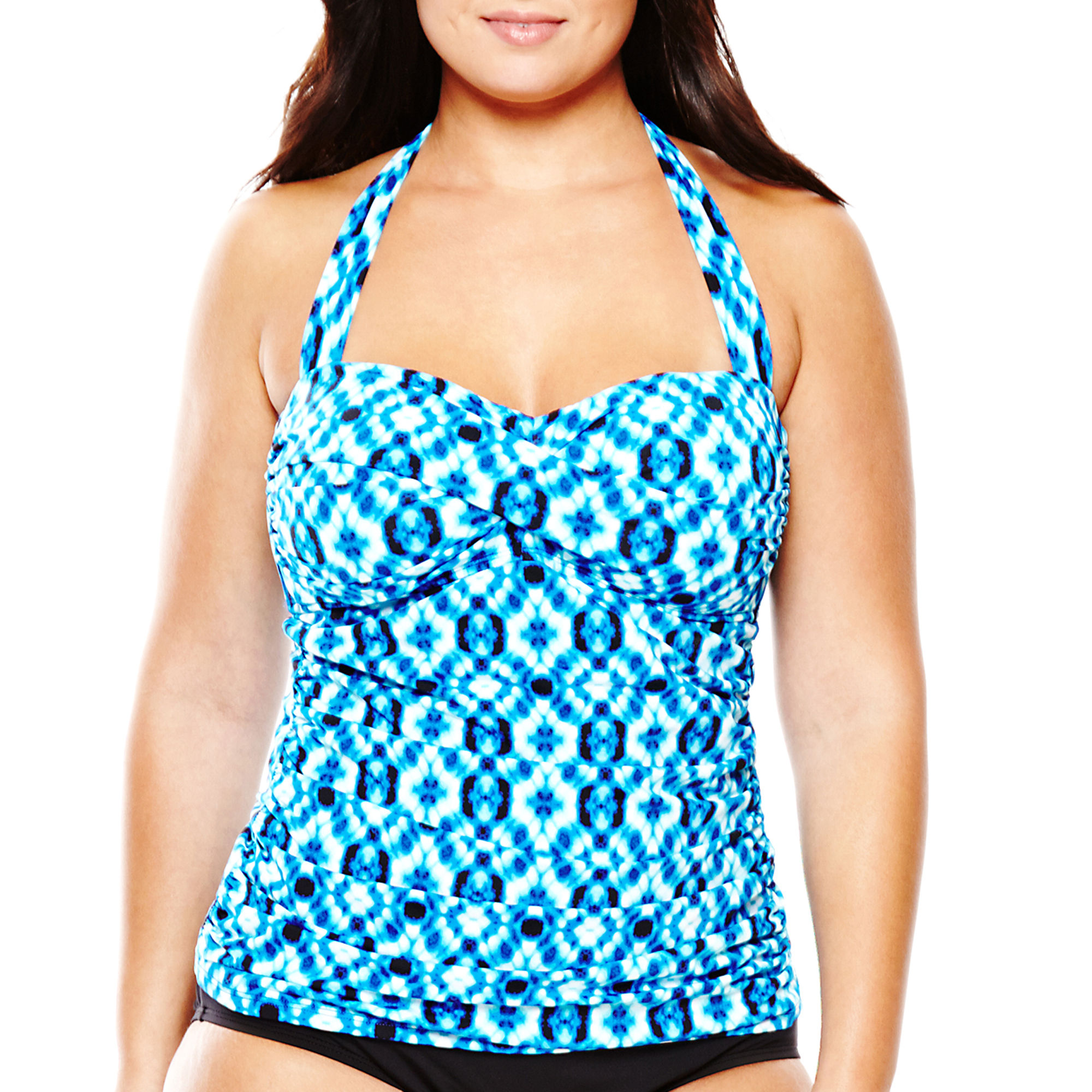 a.n.a Twist Bandeaukini Swim Top - Plus