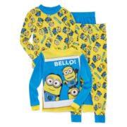 Minion 4-pc. Cotton Pajama Set - Boys 4-10