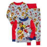 Paw Patrol 4-pc. Pajama Set - Toddler Boys 2t-4t