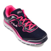 Fila® Memory Fresh Start Slip-Resistant Womens Athletic Shoes