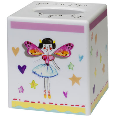 Creative Bath™ Faerie Princesses Tissue Holder