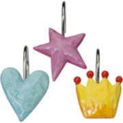 Creative Bath™ Faerie Princesses Shower Curtain Hooks