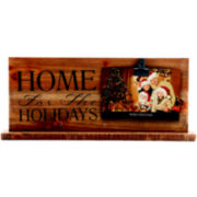 Home For the Holidays Pedestal Clip 4x6