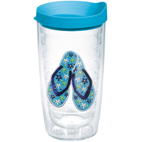 Tervis® 16-oz. Ladies Beaded Flip Flop Insulated Tumbler