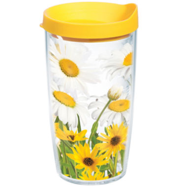 jcpenney.com | Tervis® 16-oz. White Daisies Insulated Tumbler