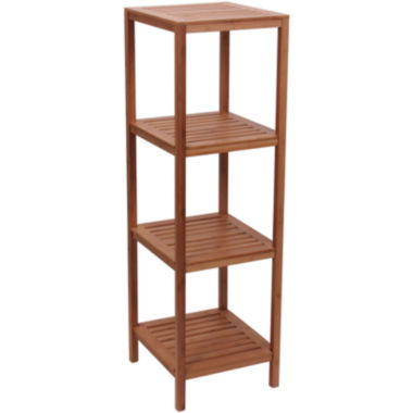 jcpenney.com | Household Essentials® Bamboo 4-Shelf Cube Tower