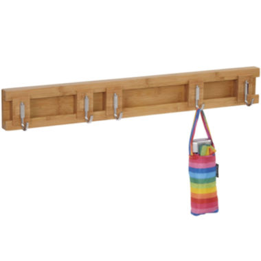 jcpenney.com | Household Essentials® Sliding 5-Hook Wall Coat Rack
