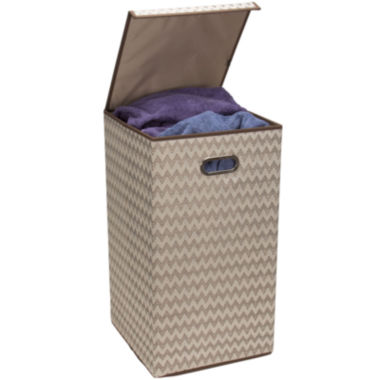 jcpenney.com | Household Essentials® Collapsible Hamper with Lid