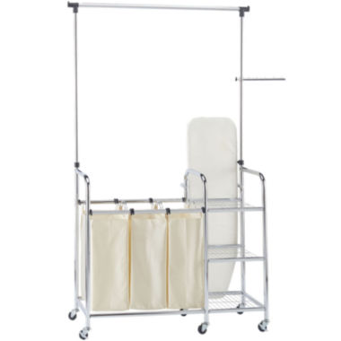 jcpenney.com | Household Essentials® Laundry Station Sorter with Ironing Board