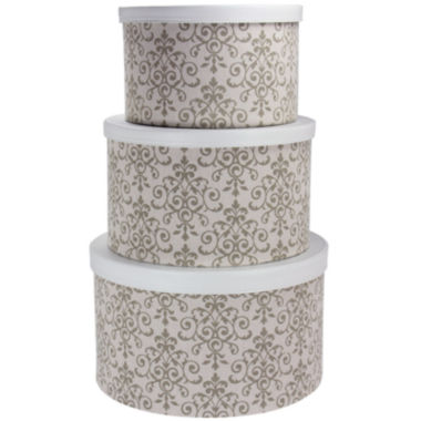 jcpenney.com | Household Essentials® 3-pc. Nesting Hat Box Set