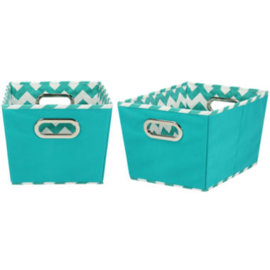jcpenney.com | Household Essentials® Set of 2 Small Tapered Storage Bins