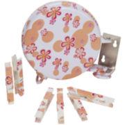 Household Essentials® Single-Line Retractable Clothesline - Flowers