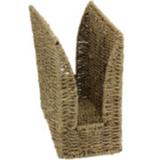 Household Essentials® High Side Seagrass Wicker Magazine Rack