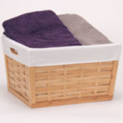 Household Essentials® Bamboo Basket