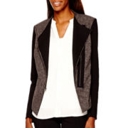 Worthington® Mixed Media Moto Jacket - Tall